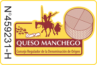 manchego cheese label